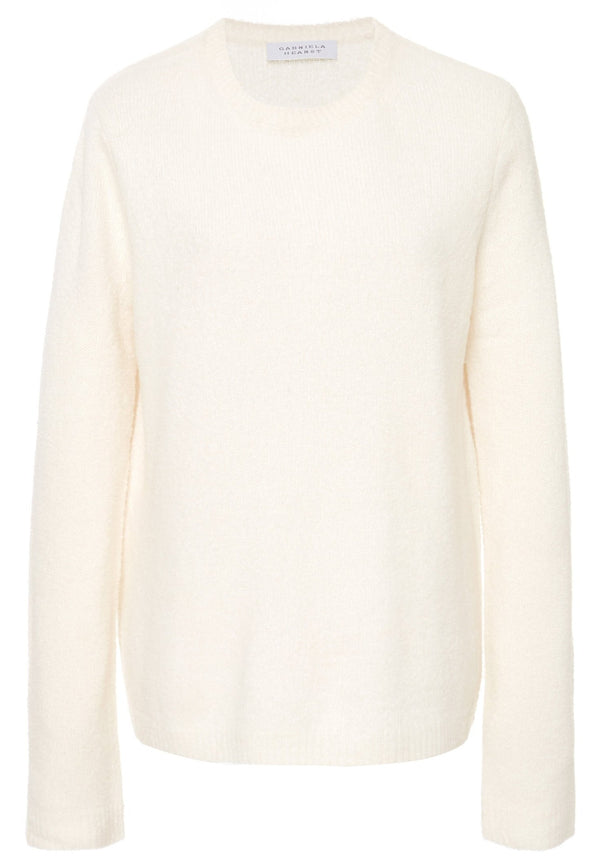 Gabriela Hearst Arcas Crewneck Sweater - Ivory @ Hero Shop SF