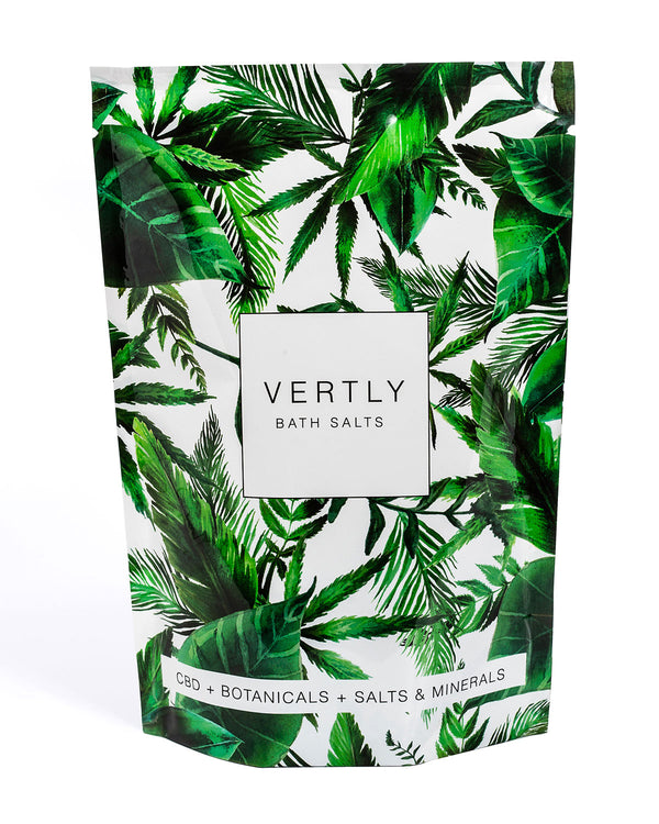 Vertly Infused Bath Salts @ Hero Shop SF