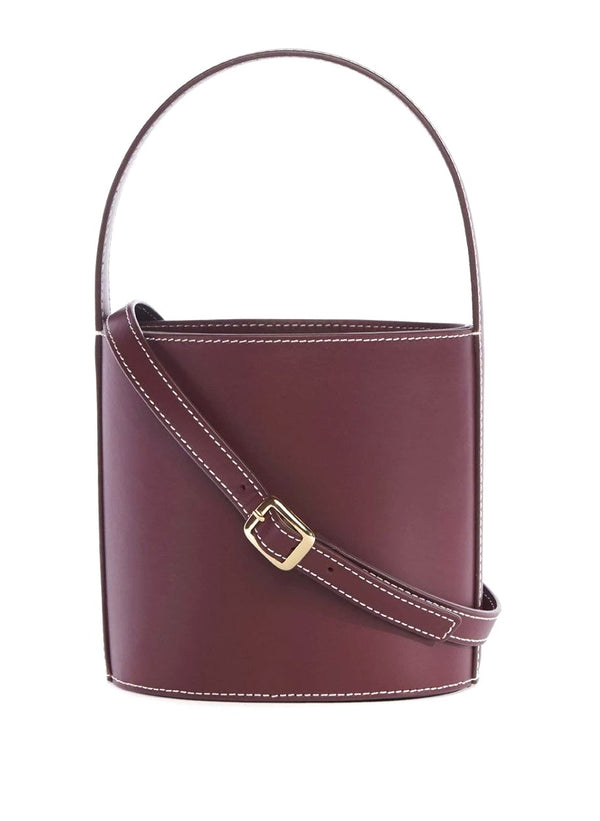 Staud Bissett Bag Bordeaux