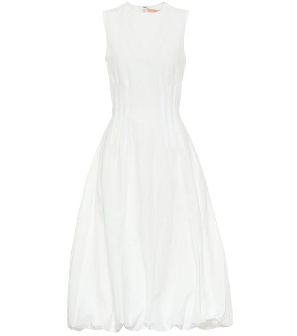 Brock Collection Cotton-Linen Sleeveless Dress