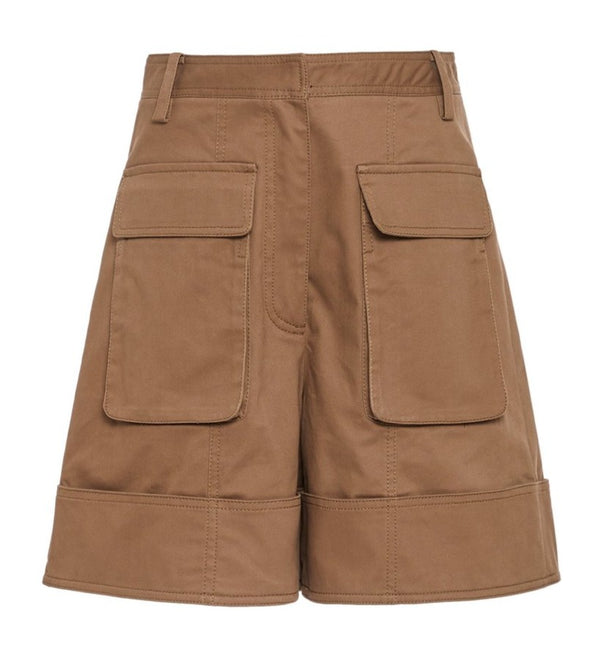 Mryiam Twill Cargo Short - Utility Brown @ Hero Shop SF