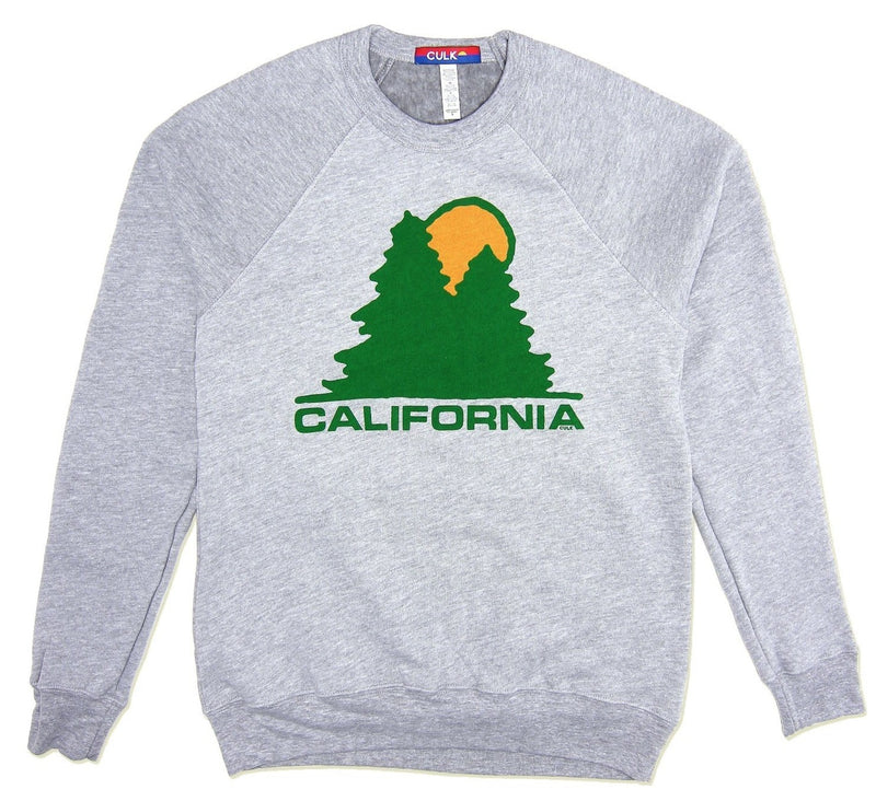 Culk California Lumber Supply Sweatshirt - Heather Grey @ Hero Shop SF