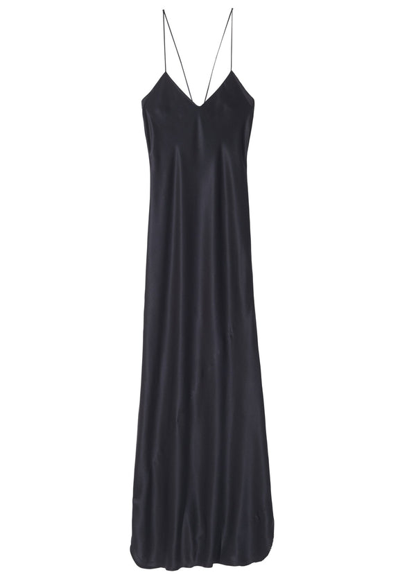 Nili Lotan Cara Cami Gown - Black @ Hero Shop SF