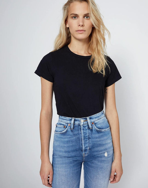 RE/DONE The Classic Tee - Black
