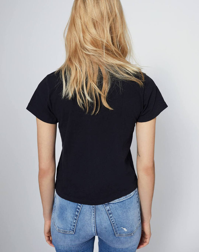 RE/DONE The Classic Tee - Black @ Hero Shop SF