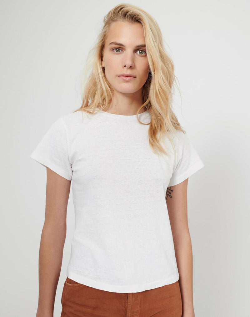 Re/Done The Classic Tee - White @ Hero Shop SF