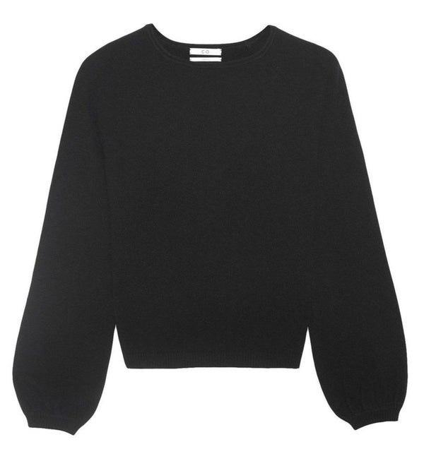 Co. Collection Raglan Peasant Sleeve Sweater - Black @ Hero Shop