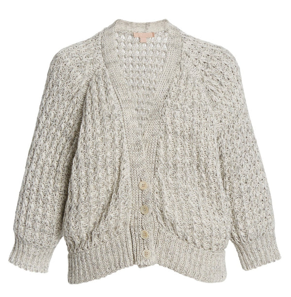 Brock Collection Sharon Cardigan - Grey @ Hero Shop