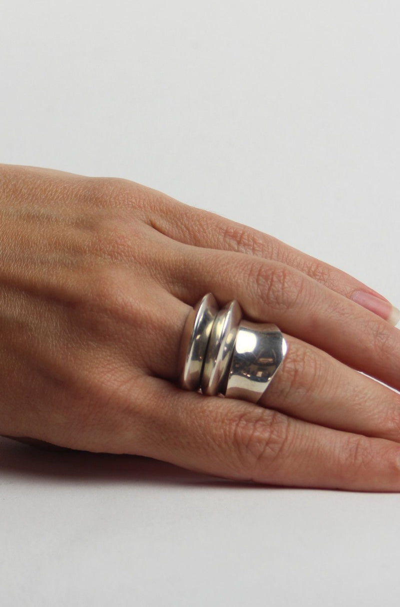 Sophie Buhai Disc Ring Pair @ Hero Shop SF