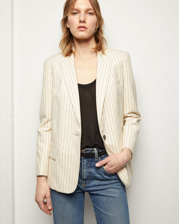Nili Lotan Don Jacket - Natural @ Hero Shop