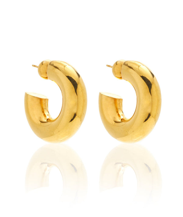 Sophie Buhai Small Donut Hoops Gold @ Hero Shop