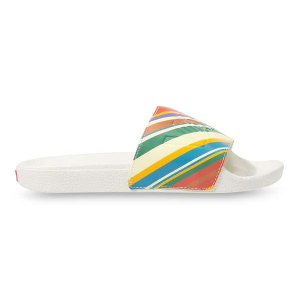 Slide On - Retro Stripe