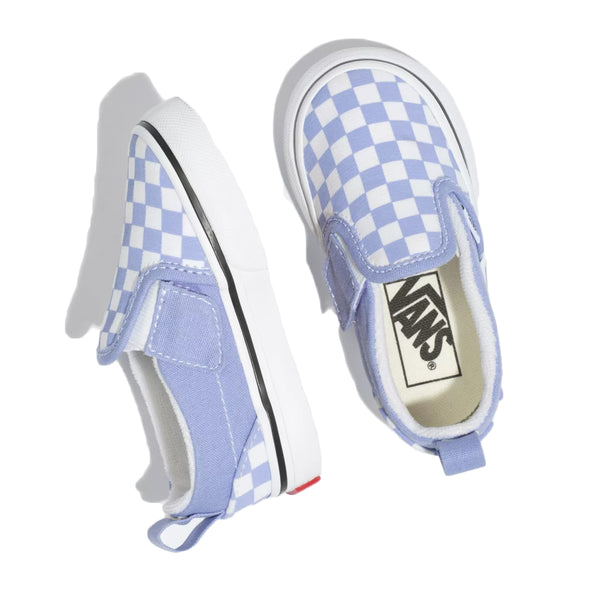 Toddler Checkerboard Slip-On V - Size 2