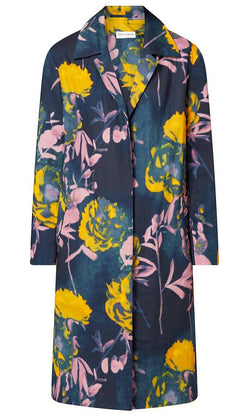 Dries Van Noten Roltane Printed Cotton Voile Coat @ Hero Shop