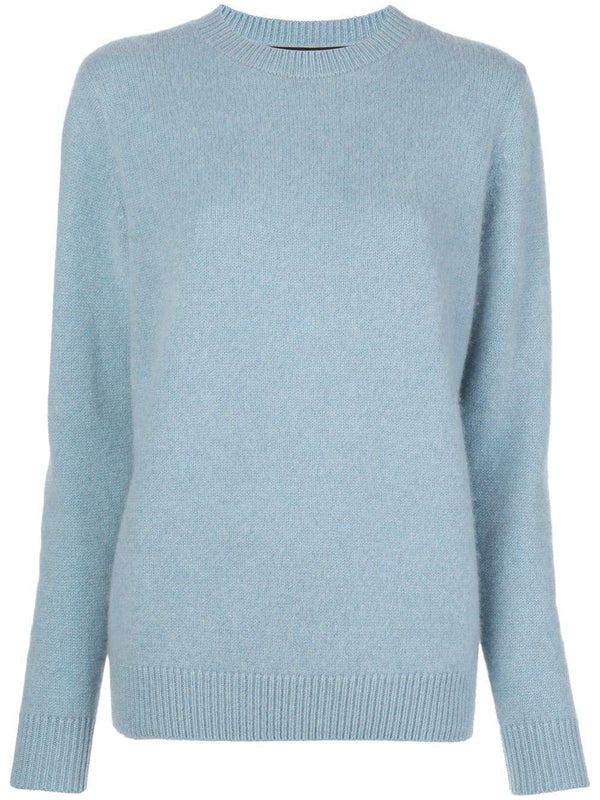 The Elder Statesman Simple Crew Sweater