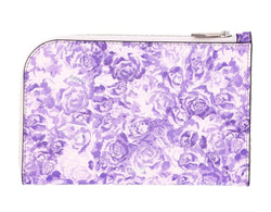 Ganni Printed Leather Pouch - Violet @ Hero Shop SF