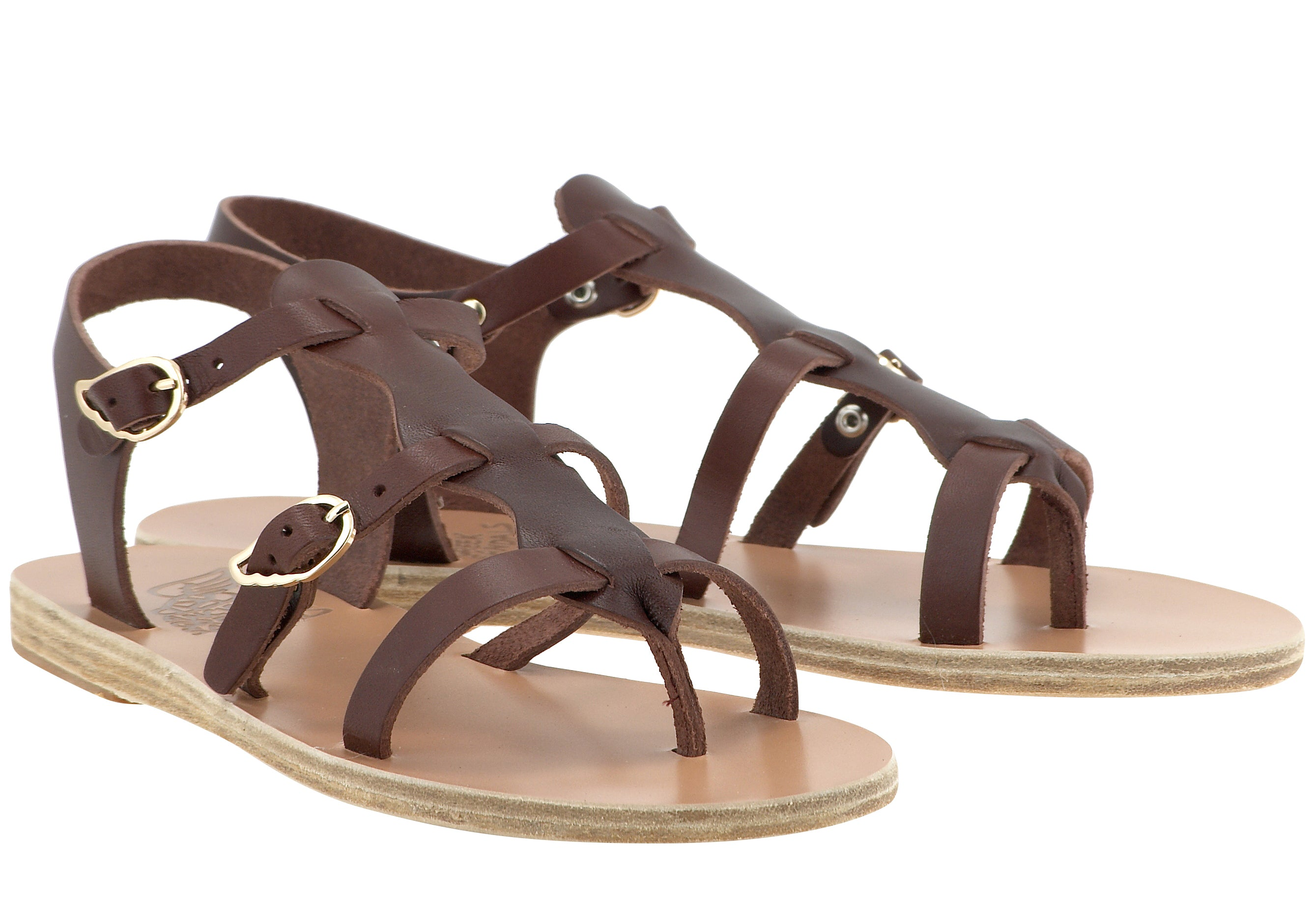 Ancient Greek Sandals Grace Kelly Leather Sandals NXnXkhu