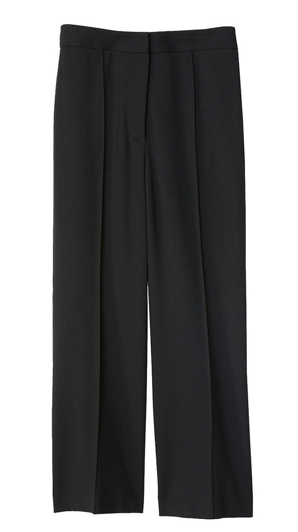 Tibi Stretch Knit Jane Bootcut Pant - Black @ Hero Shop SF