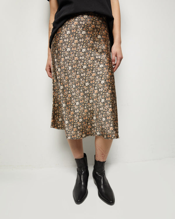Nili Lotan Lane Skirt - Multi Floral @ Hero Shop SF