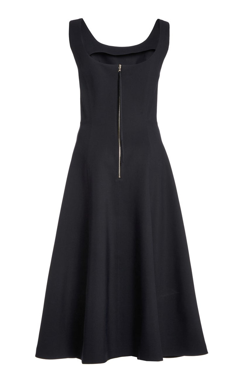 Adam Lippes Scoop Neck Flare Dress @ Hero Shop SF