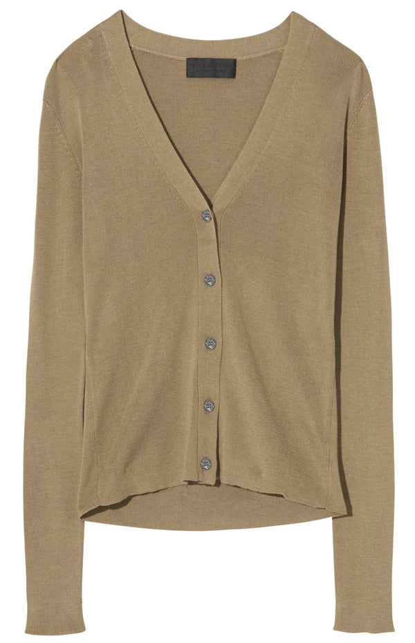 Nili Lotan Ludlow Cardigan - Sahara @ Hero Shop SF