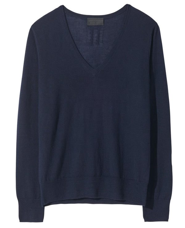 Nili Lotan Muriel Sweater - Navy @ Hero Shop