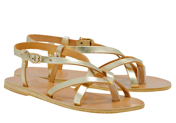 Ancient Greek Sandals Semele - Platinum @ Hero Shop SF