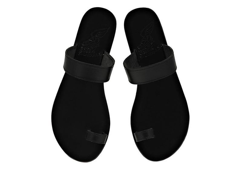 Ancient Greek Sandals Thalia - Black @ Hero Shop SF