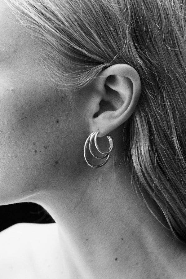 Sophie Buhai Triple Layer Hoops - Gold @ Hero Shop SF