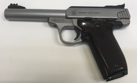 "Smith & Wesson SW22 Victory 22LR  5.5""Semi-Auto Pistol (Pre-Owned)"