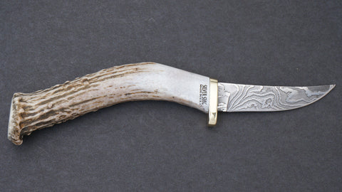 Silver Stag Damascus Swoop Crown - DPS2.5