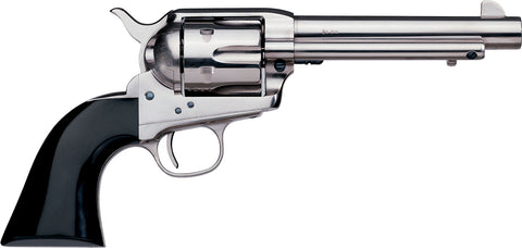"Uberti 1873 Cattleman Nickel 45Colt Single Action 5.5"" Revolver New"