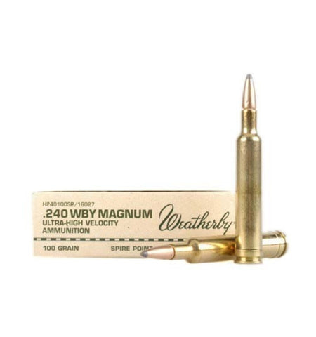 Weatherby 240 WEATHERBY MAGNUM