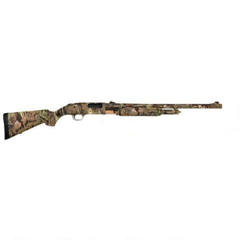 "Mossberg 500 20Gauge 24"" Rifled Barrel Camo Pump Shotgun"