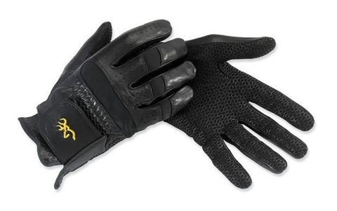 Browning Leather Tac-Pro Shooting Gloves
