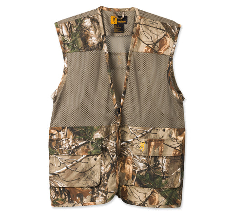 Browning Upland Camo/Green Dove Vest