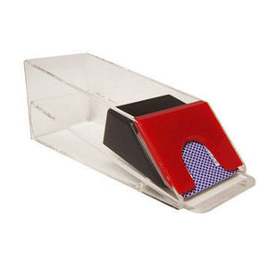 Casino Blackjack Dealer Shoe - 6 Deck Red - Casino Supply