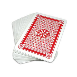 Super Jumbo Plastic Coated Playing Cards - 10.25 x 14.5 inch - Casino Supply