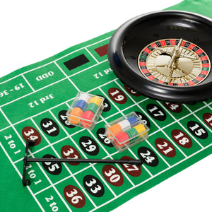 Roulette Set With 12 Inch Wheel