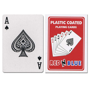 Plastic Coated Playing Cards - Casino Supply