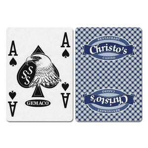 Christo's New Uncancelled Casino Playing Cards - Casino Supply - 2