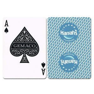 Harrahs Vicksburg New Uncancelled Casino Playing Cards - Casino Supply