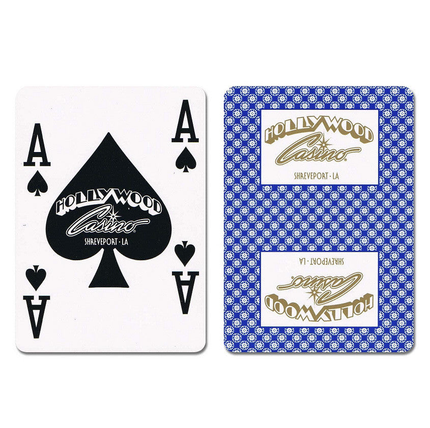 Hollywood New Uncancelled Casino Playing Cards - Casino Supply