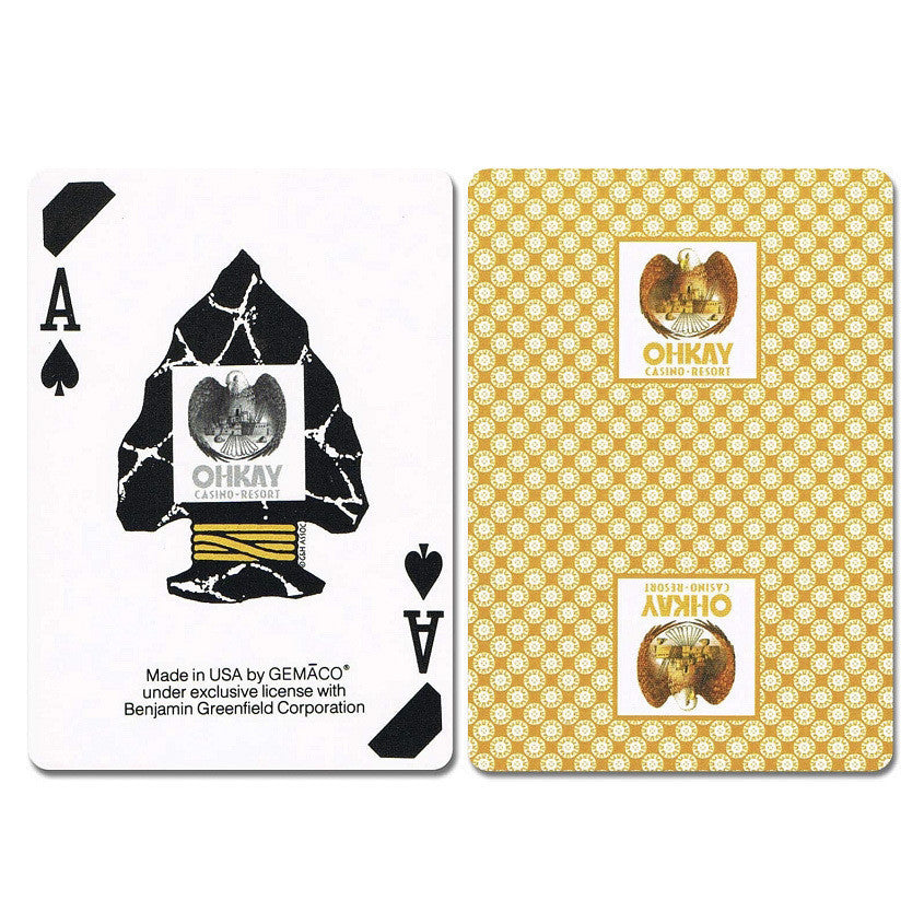 Ohkay New Uncancelled Casino Playing Cards - Casino Supply - 1