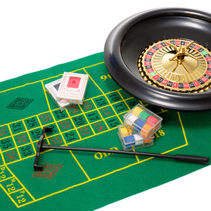 Roulette Set With 16 Inch Wheel