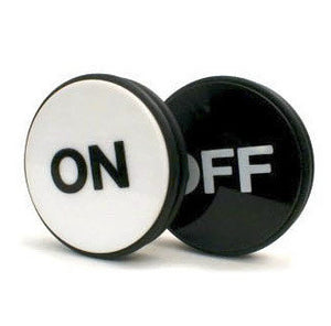 On Off Dice Puck - Engraved 3 Inch - Casino Supply