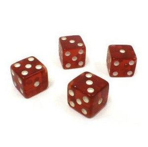 Dice Tops and Bottoms (Missouts) 1,3,5 & 2,4,6 - Casino Supply