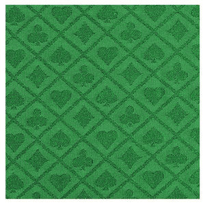Casino Poker Table Waterproof Suited Speed Cloth (Sold Per Running Foot) Green