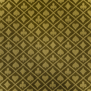 Two-Tone Suited Speed Cloth - (Sold Per Running Foot) Gold - Casino Supply