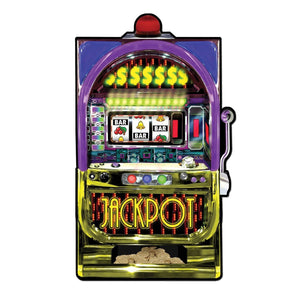 Slot Machine Cutout (35 inches) - Casino Supply